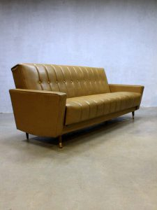 vintage design slaapbank bank sofa daybed retro Mad Men stijl