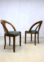 vintage design art deco eetkamerstoel dinnerchair