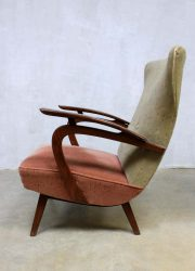 vintage arm chair wingback chair oorfauteuil