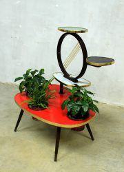 Vintage sixties coffee table plant table plantentafel