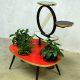 Vintage sixties coffee table plant table plantentafel