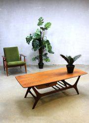 Vintage design Webe salontafel Louis van Teeffelen coffeetable