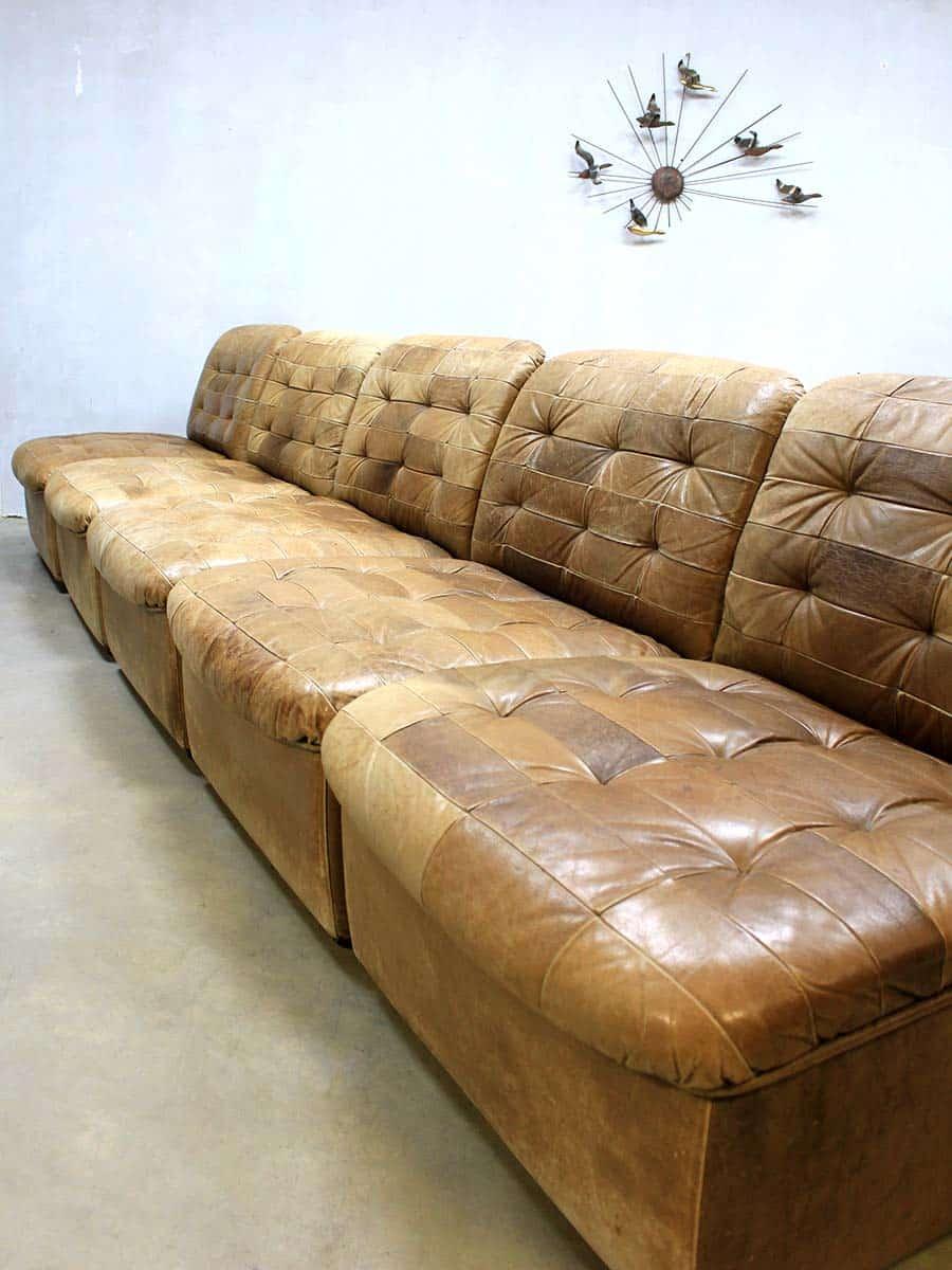 vintage de sede lounge bank vintage de sede sofa patchwork bestwelhip. Black Bedroom Furniture Sets. Home Design Ideas