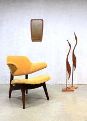 Vintage lounge stoel armchair Webe Louis van Teeffelen