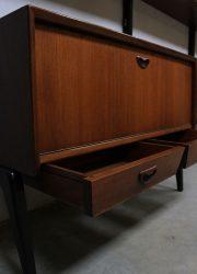 Mid century vintage design wall unit Webe Louis van Teeffelen modulair wandsysteem