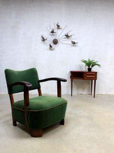 Mid century vintage design fauteuil armchair Art Deco