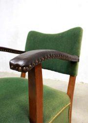 art deco armchair vintage design velvet