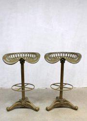 Tractor kruk industrieel Baker Hamilton Industrial tractor seat bar stools