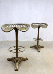 Baker Hamilton tractor stools Industrial