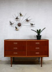 vintage dressoir ladenkast chest of drawers Danish