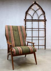 vintage design wingback chair easy chair