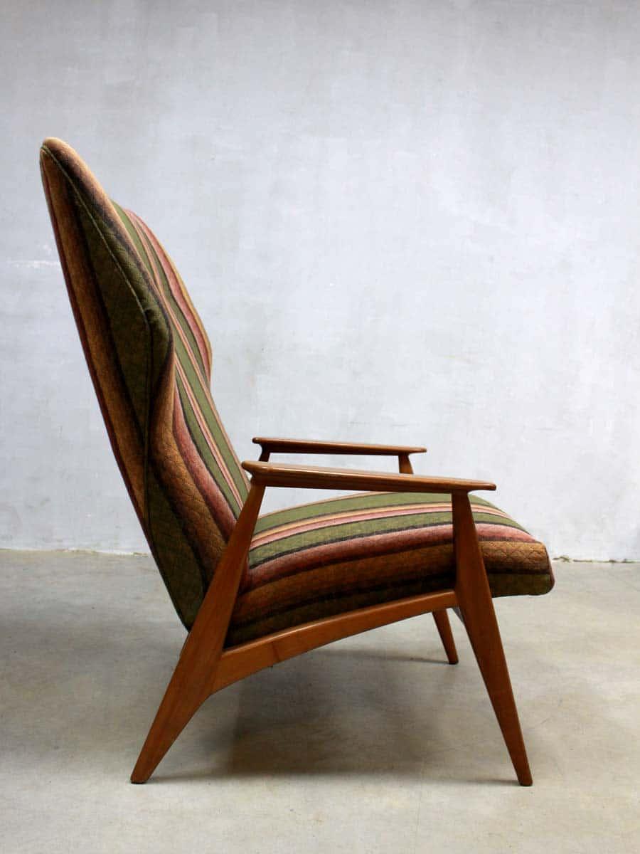 Leuke Design Fauteuil.Vintage Danish Wingback Chair Vintage Design Fauteuil Deense