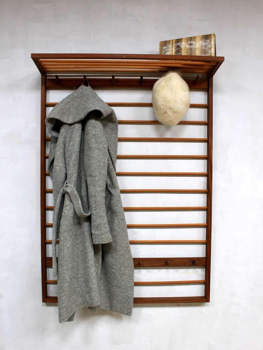 Mid Century Vintage Design Coat Rack Vintage Kapstok Deense Stijl