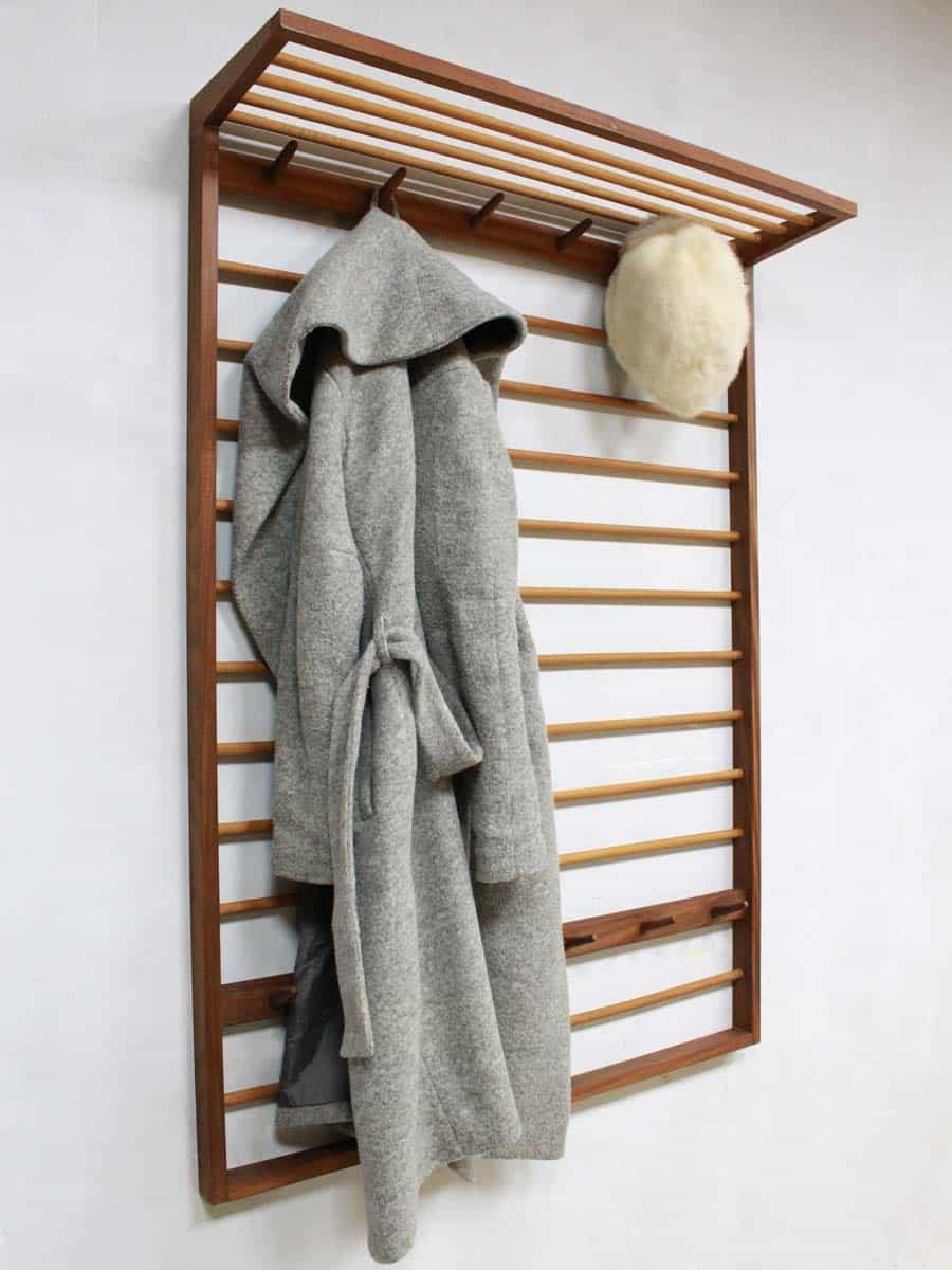 Nieuw Mid century vintage design coat rack, vintage kapstok Deense stijl BP-87