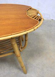 Janine Abraham vintage rattan table