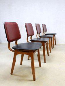 Vintage design Dutch dinner chairs, vintage design eetkamerstoelen