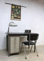 vintage Backfield bureau desk