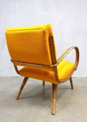 midcentury design lounge chair bamboo bamboe fauteuil vintage