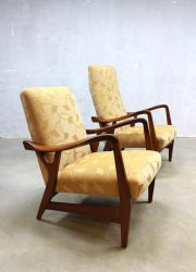 mid century Topform design lounge chairs