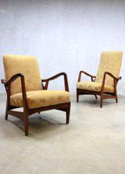 vintage fauteuils Topform