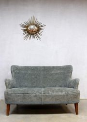 vintage design bank sofa Artifort Theo Ruth velours velvet