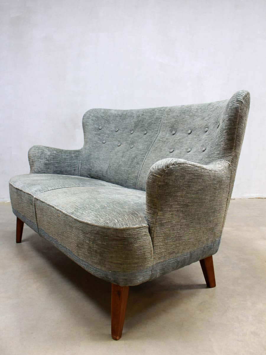 Fifties vintage velour bank artifort theo ruth midcentury for Velours bank