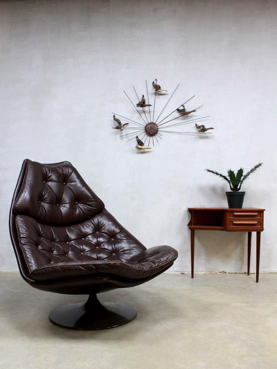 Artifort Swivel Chair F588 Vintage Artifort Draaifauteuil