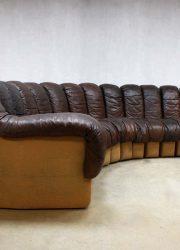 Vintage de Sede bank modular sofa DS-600 by Berger, Peduzzi, Vogt & Ulrich