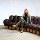 de Sede DS- 600 vintage design bank sofa