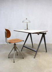 vintage bureau industrieel Friso Kramer desk