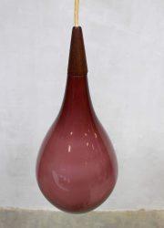Deense vintage design hanglamp Holmegaard pendant lamp
