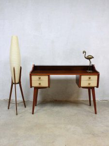 Fifties vintage kaptafel bijzettafel dressing table side table