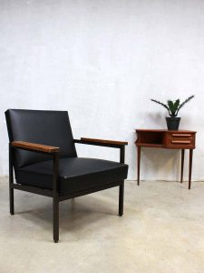 Industrial lounge chair armchair Gijs van der Sluis Dutch design