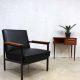 Industrial lounge chair armchair Gijs van der Sluis Dutch design