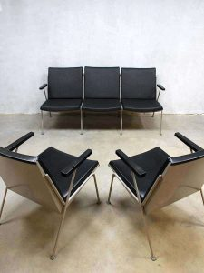 Mid century vintage design Oase lounge set Wim Rietveld sofa armchairs