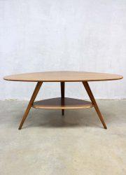 vintage triangel salontafel, vintage triangle coffee table