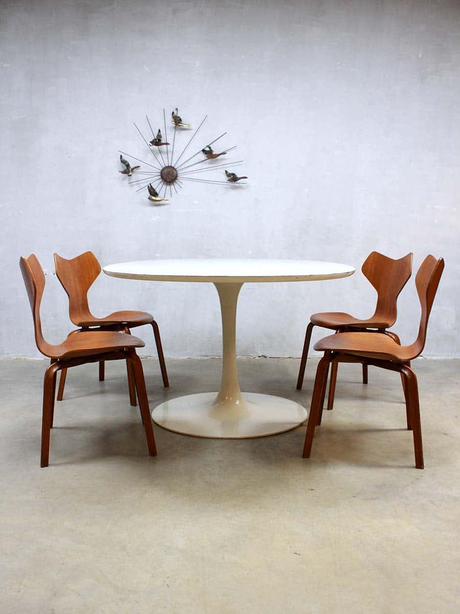 vintage design ovale eetkamertafel dining table arkana maurice burke. Black Bedroom Furniture Sets. Home Design Ideas