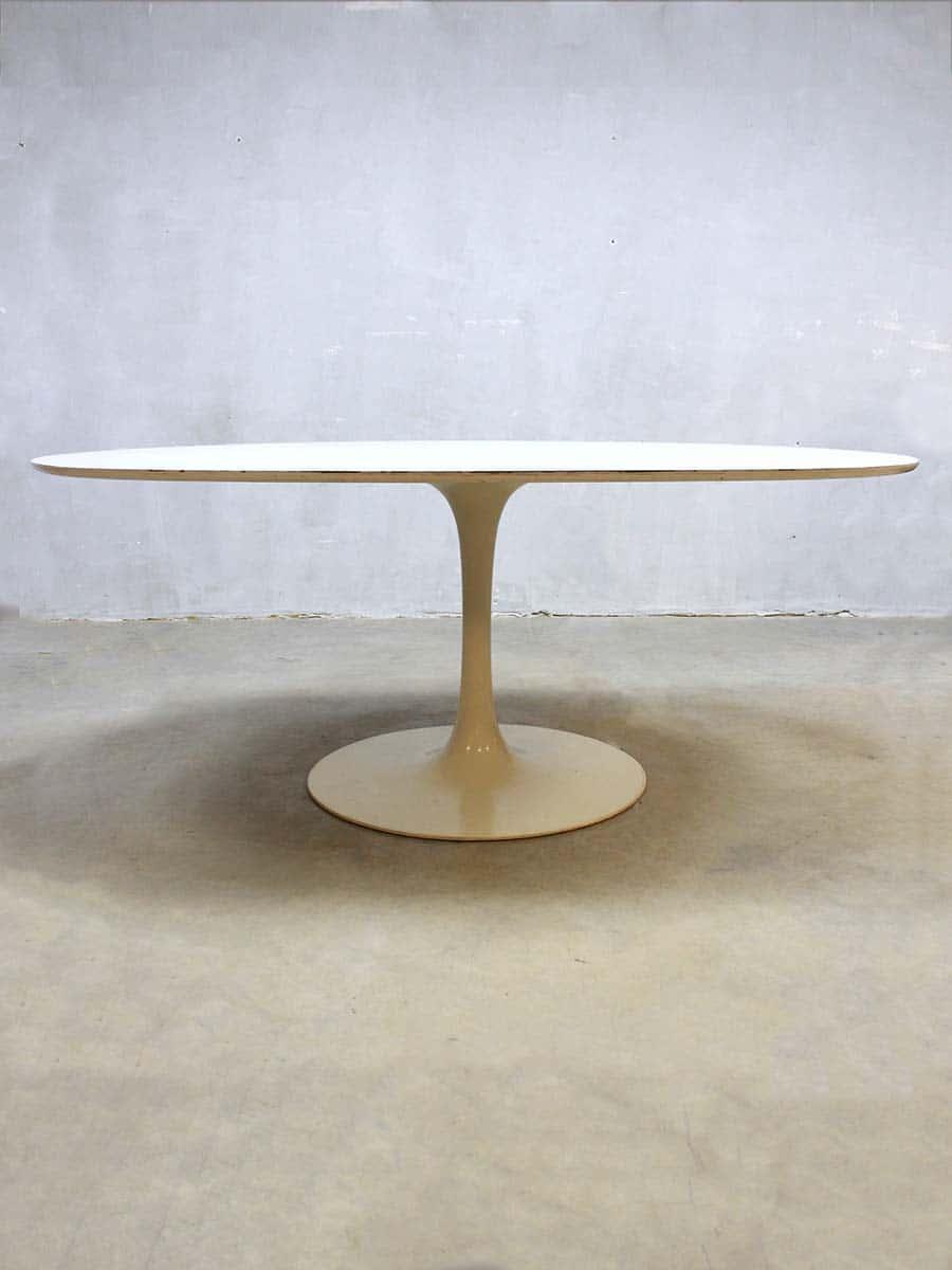 Eetkamer Tafel Wit Ovaal.Vintage Design Ovale Eetkamertafel Dining Table Arkana Maurice Burke