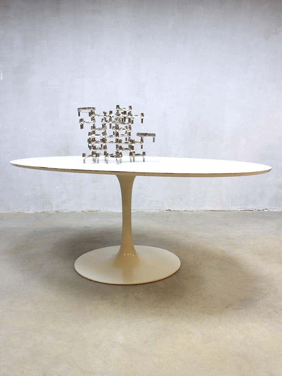 Vintage design ovale eetkamertafel dining table Arkana Maurice Burke