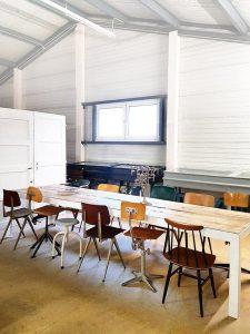 Barnwood vintage tafel l industrieel loft, barnwoord vintage dinnertable