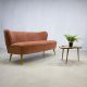 Jaren 50 vintage design cocktail bank lounge bank sofa fifties