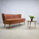Jaren 50 vintage design cocktail bank lounge bank sofa fifties