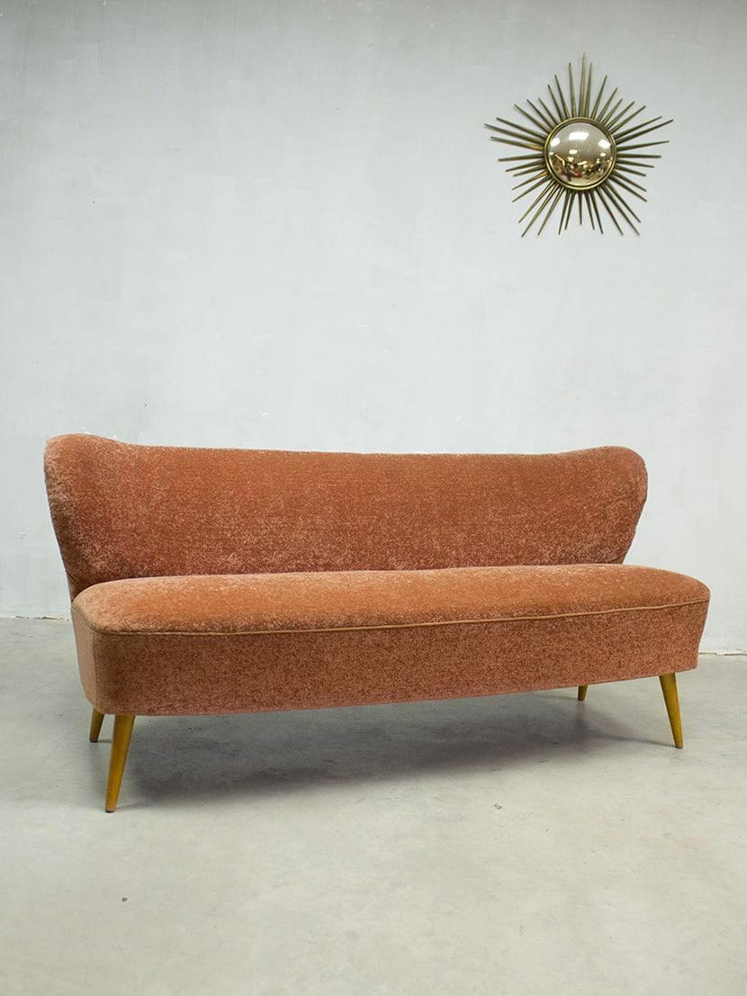 Jaren 50 vintage design cocktail bank lounge bank sofa fifties - Bank jaren ...