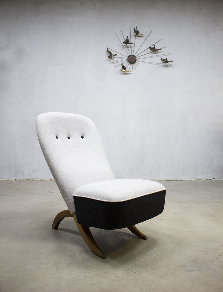 Vintage Artifort Congo chair Theo Ruth Dutch design fauteuil
