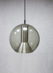 Raak Globe pendant lamp vintage midcentury Dutch design