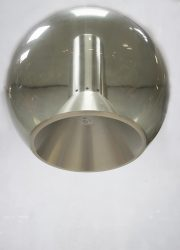 vintage glazen Globe lamp Raak Frank Ligtelijn globe pendant lamp