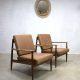 Grete Jalk vintage design lounge chair fauteuil armchair Danish