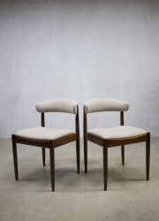 midcentury Danish dinner chairs dining chairs vintage eetkamerstoelen