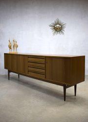vintage midcentury design low board dressoir cabinet
