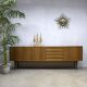 intage dressoir sideboard low board midcentury design cabine